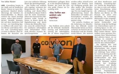 Westfälische Nachrichten 14. Januar 2021