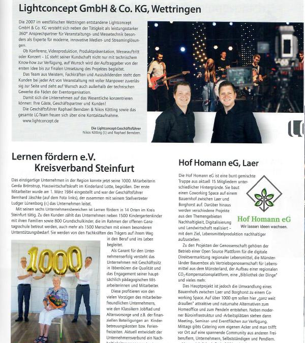 Wirtschaft Münsterland 01/2021